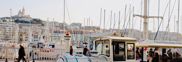 Tourisme Marseille en VTC
